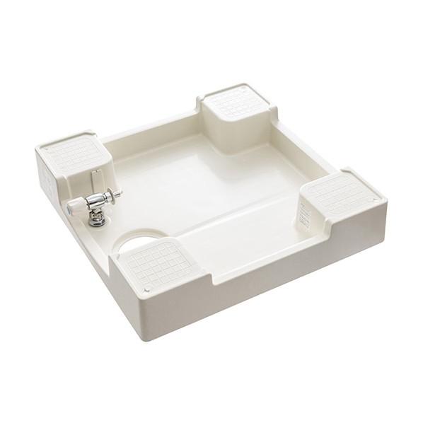 SANEI 洗濯機パン(洗濯機用水栓付) H5410KS-640 1台