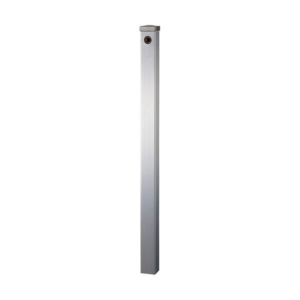 SANEI ステンレス水栓柱(下給水) シルバー T8000-60X1200 1本