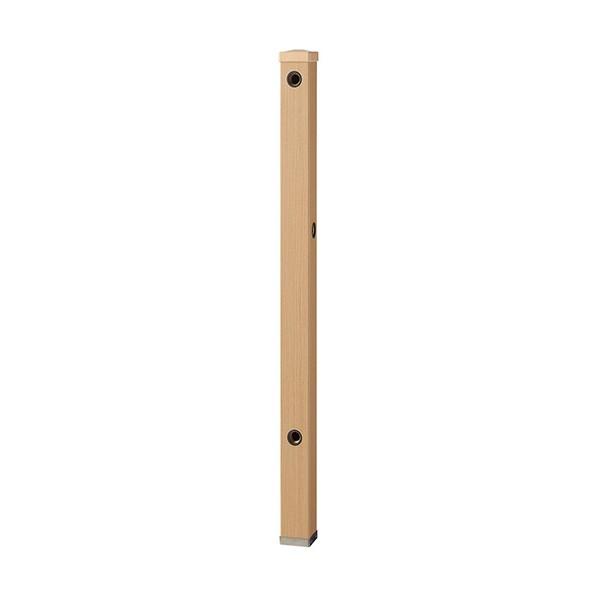 SANEI 木目調水栓柱 木目ライトブラウン T803BW-60X900-LBR 1本