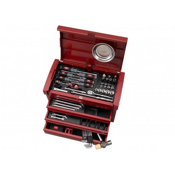 KTC 68点工具セット 特別色セット パールレッド SK36820EPR 1セット