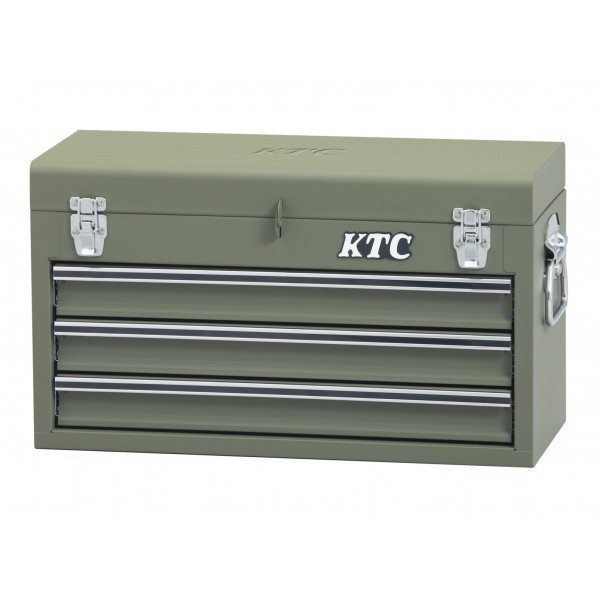 KTC チェスト(3段3引出し)特別色 マットグリーン SKX0213MGR 1セット