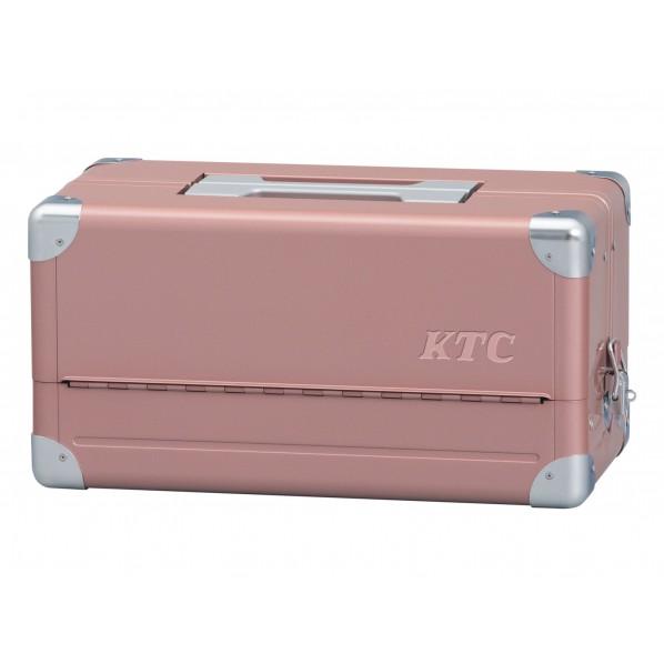 KTC 両開きメタルケース(特別色) ローズゴールド×シルバー EK-1ARG 1セット