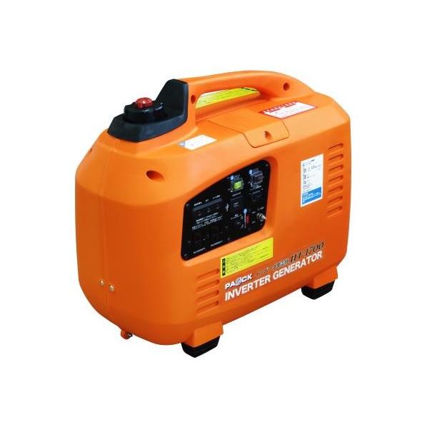 PAOCK インバータ発電機 1.7kw オレンジ 510×445×280mm HT-1700 1台