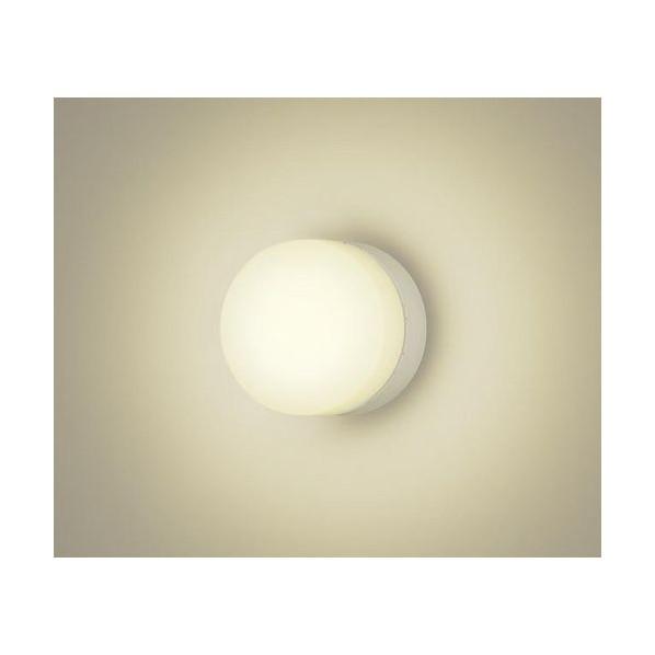 パナソニック LEDポーチライト照明器具60形電球1灯相当防湿型・防雨型 ホワイト LGW80108KLE1