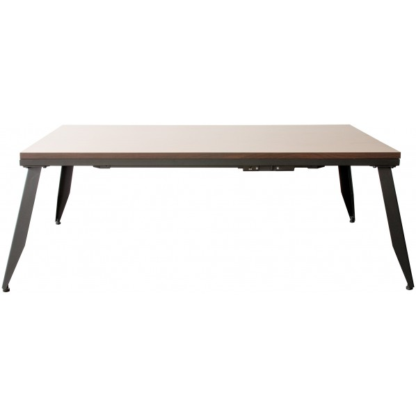 CAROL 買い物 男女兼用 キャロル 薄型ヴィンテージ風こたつテーブル KCT-1100 1個