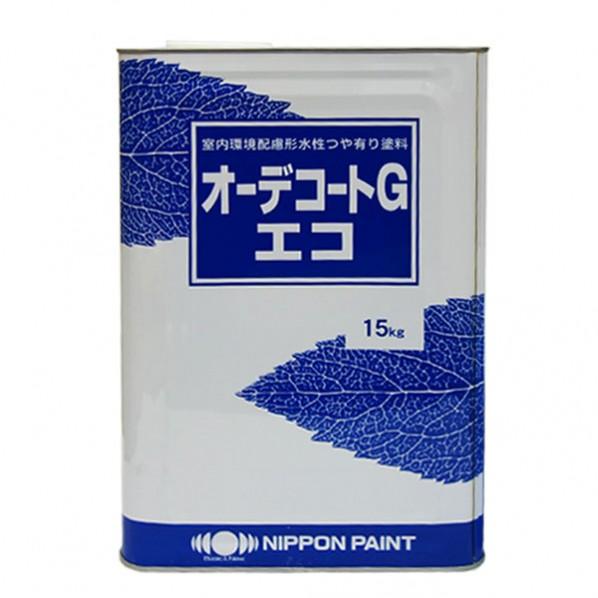 日本ペイント オーデコートGエコ 白 15kg 1缶