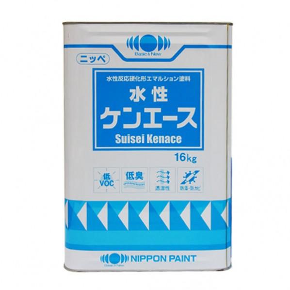 日本ペイント 水性ケンエース 16kg 白 1缶