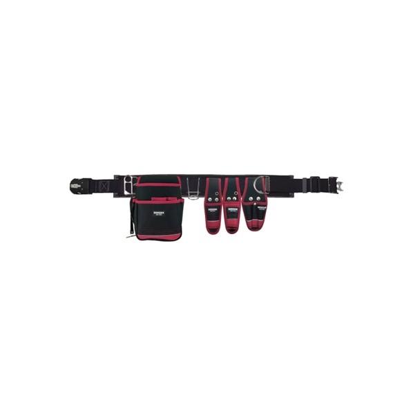 デンサン 腰道具セット(WSBシリーズ) WSB-97-1BK 1個