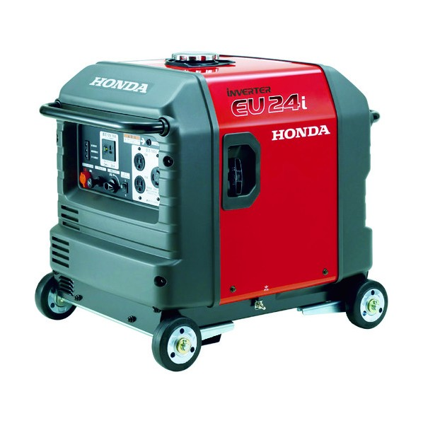 HONDA 防音型インバーター発電機 2.4kVA(交流/直流)車輪付 EU24IK1JNA3 発電機 1台