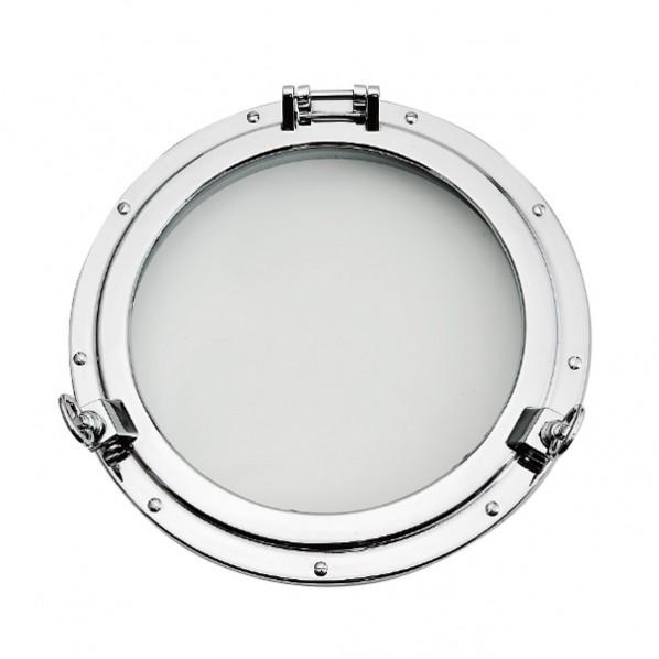 ゴーリキアイランド 真鍮丸窓 7C 47 C 銀色 幅470×高さ470×奥行90mm 620892 1個