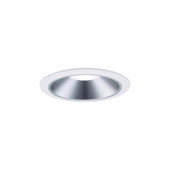 Panasonic/パナソニック LEDダウンライト 本体 250形 φ150 美光色 銀色鏡面反射板 拡散 電球色 NDN27658S 1台