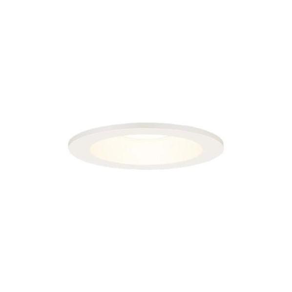 Panasonic/パナソニック 軒下用LEDダウンライト φ100 60形 ホワイト 拡散 電球色 NDW06303WKLE1 1台