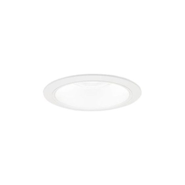 Panasonic/パナソニック LEDダウンライト 本体 350形 φ150 ホワイト反射板 広角 電球色 NDN46633W 1台