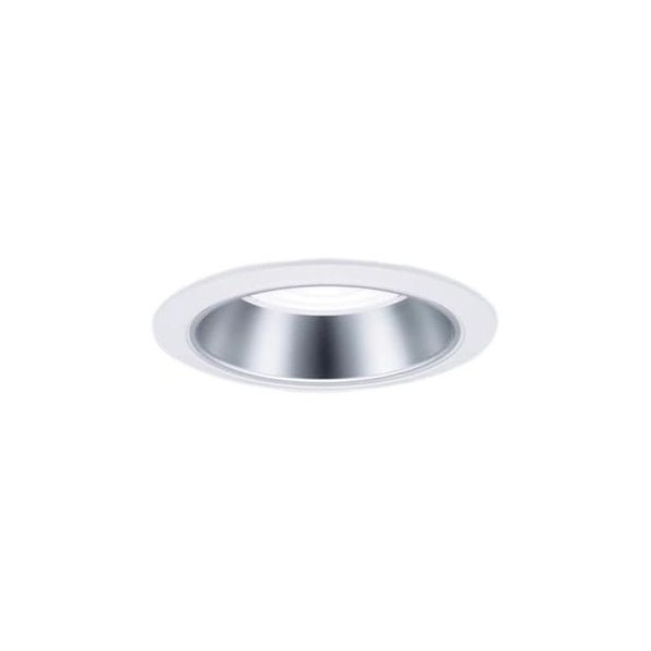 Panasonic/パナソニック LEDダウンライト 本体 550形 φ100 銀色鏡面反射板 広角 温白色 NDN66302S 1台