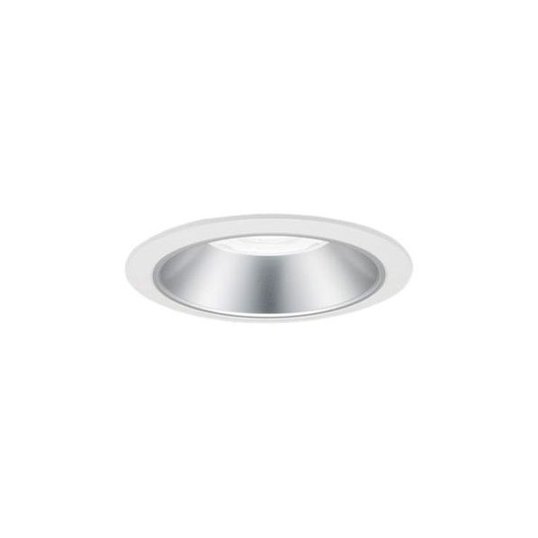 Panasonic/パナソニック LEDダウンライト 本体 550形 φ150 銀色鏡面反射板 拡散 温白色 NDN66637S 1台