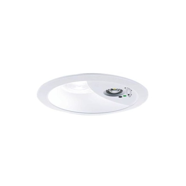 Panasonic/パナソニック LEDダウンライト非常用照明器具 本体 広角50° 電球色 ホワイト NDG24603W 1台