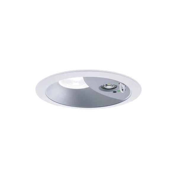 Panasonic/パナソニック LEDダウンライト非常用照明器具 本体 拡散85° 白色 シルバーメタリック NDG24606S 1台