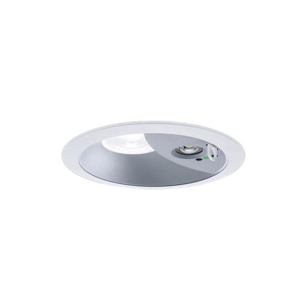Panasonic/パナソニック LEDダウンライト非常用照明器具 本体 拡散85° 電球色 シルバーメタリック NDG24608S 1台