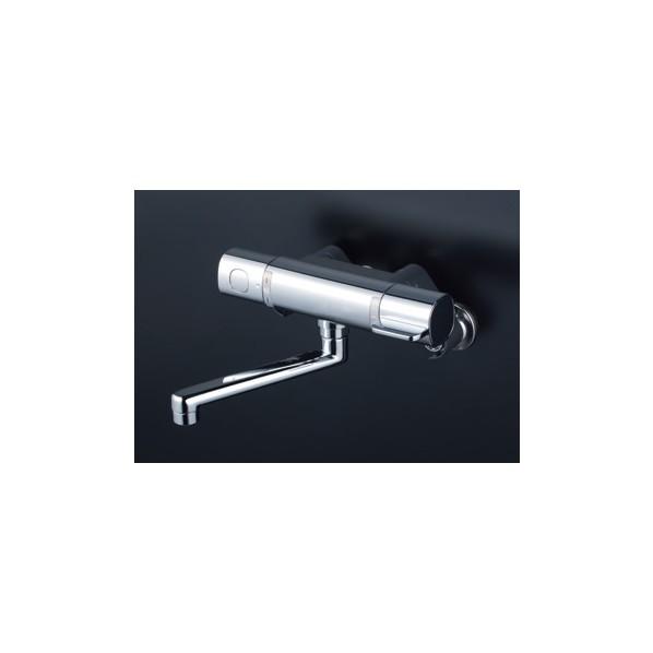 KVK サーモスタット式混合栓 240mmパイプ付 MTB100KR2T 1個