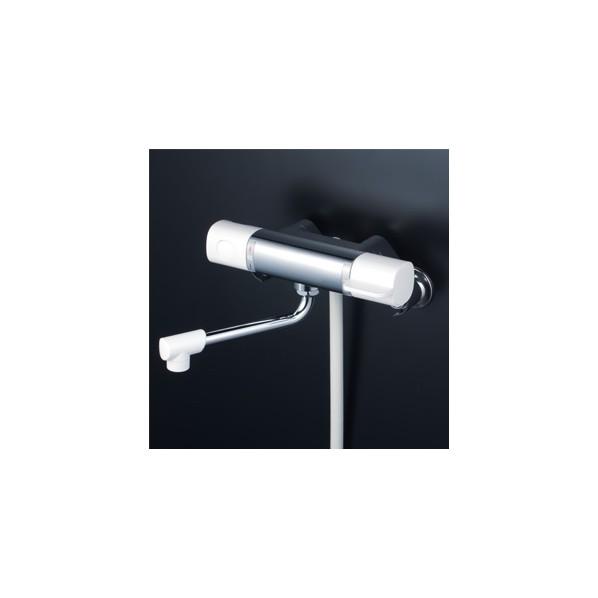 KVK サーモスタット式シャワー 300mmパイプ付 寒冷地対応 FTB100KWR3 1個