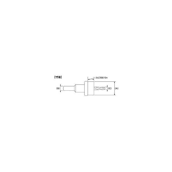 エビ 超硬ホルソー(薄板用)HO80S 132 x 108 x 104 mm HO80S
