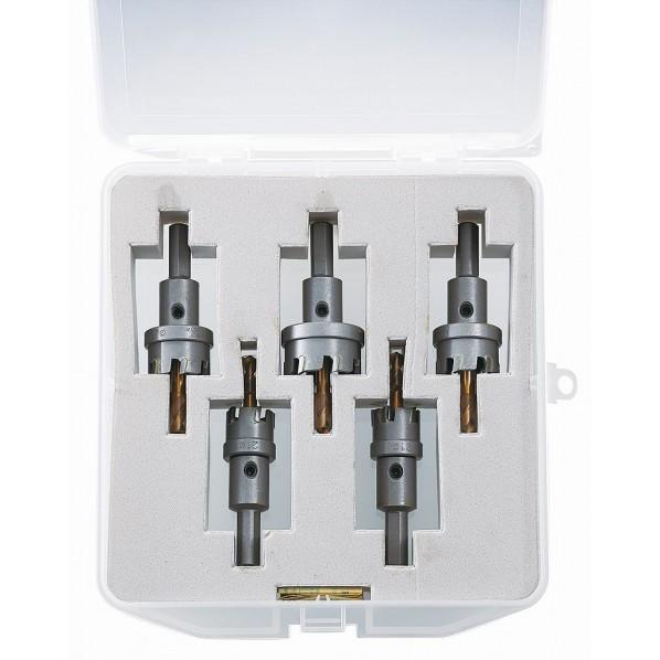 エビ 超硬ホルソー(薄板用)セットHOS-ASET 203 x 204 x 48 mm HOS-ASET 5本