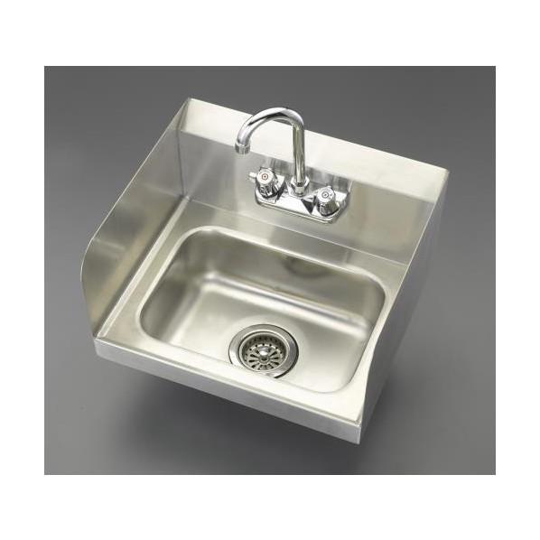 エスコ(esco) 442x385x245mm 手洗いシンク EA468EE-6 1個
