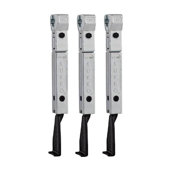 エスコ(esco) 400mm [EA500CG-90/120用]アーム(3本組/薄爪) EA500CG-4 1組