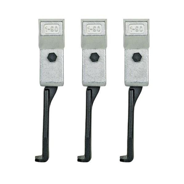 エスコ(esco) 250mm[EA500CH-90/130用]アーム(3本組/超薄爪 EA500CH-3 1組