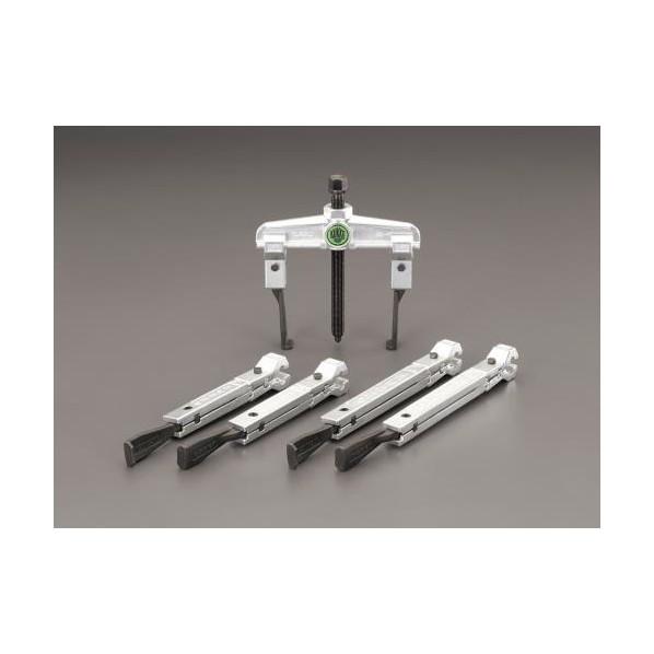 エスコ(esco) 120mm スライドアームプーラー3本セット(2本爪/超薄爪) EA500JG 1個
