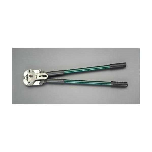 エスコ(esco) 120 -240mm2 圧着ペンチ(裸端子用) EA538CL-2 1個