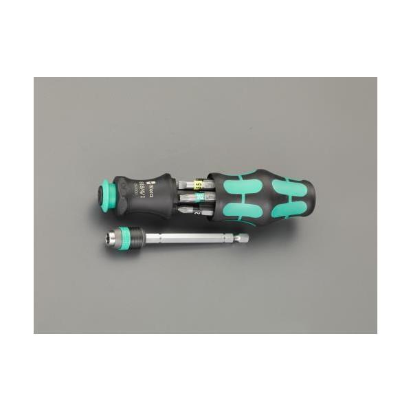 エスコ(esco) [+ - Pozi Torx]ドライバービットセット(ハンドル付) EA550BP-30 1個