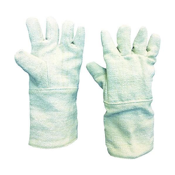 トラスコ(TRUSCO) TRUSCO 生体溶解性セラミック耐熱手袋 5本指タイプ 372 x 264 x 56 mm TCAT5-A 10