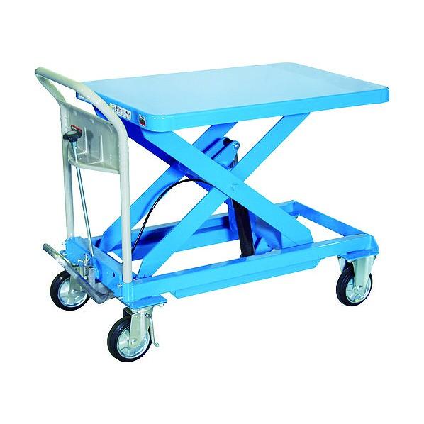 【良好品】 TRUSCO ブルー FACTORY SHOP 500kg ONLINE 1個:DIY ハンドリフター TRUSCO 600X900 HLFA-S500B-DIY・工具