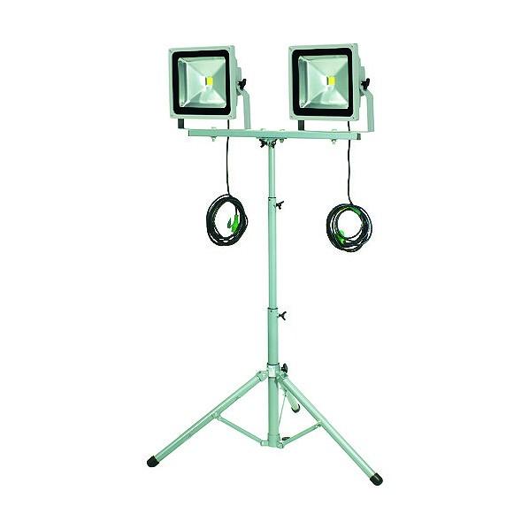日動 日動 LED作業灯 50W 二灯式三脚 485 x 740 x 190 mm 1