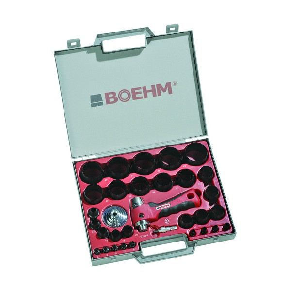 BOEHM BOEHM 穴あけポンチ 29個セット 340 x 319 x 66 mm JLB250PA ハンマー・刻印・ポンチ 29個