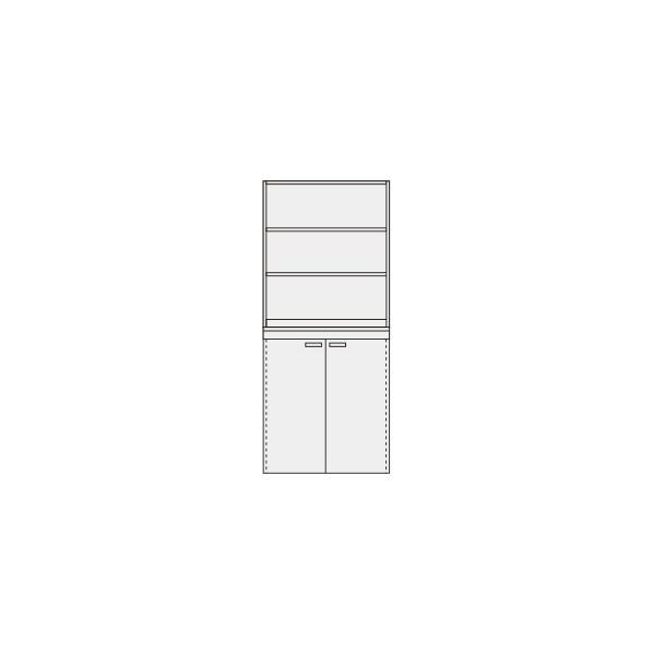 サカエ ピットイン カラー:パールホワイト 外寸(間口W×奥行D×高さH)(mm):900×650×2000 PN-H91W 1台 0