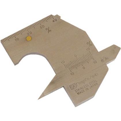 SK 溶接ゲージ 110 x 102 x 20 mm WG-2