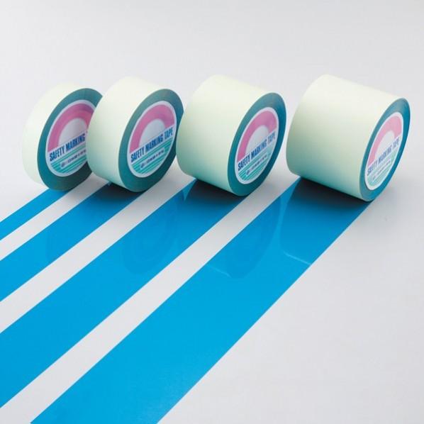 緑十字 GT-501BL ガードテープ(ラインテープ) 青 50mm幅×100m 屋内用 148056 1巻