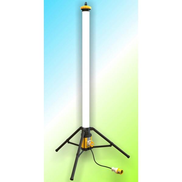 LEDラウンドバー(100V仕様) キシデン工業 160cm×20cm×20cm 1台 L120F