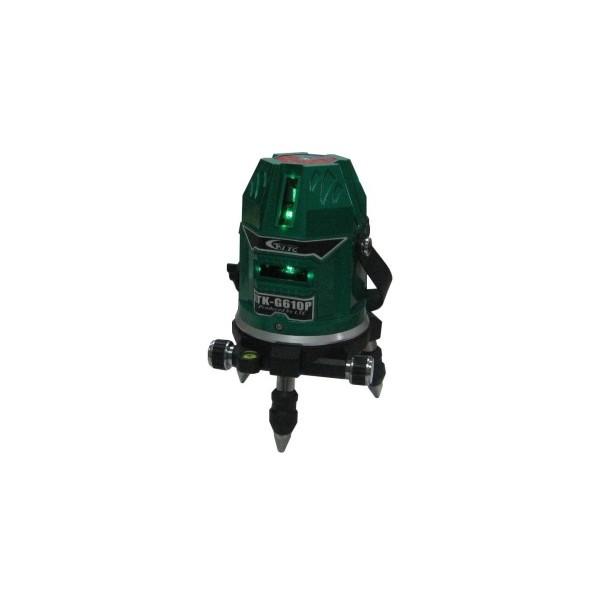 キシデン工業 【軽天向け】 レーザー墨出し器(グリーンレーザー) W115xH180mm LTK-G610P 1台