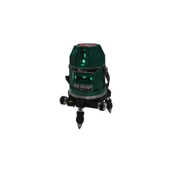 キシデン工業 【軽天向け】 レーザー墨出し器(グリーンレーザー) W115xH180mm LTK-G510P 1台