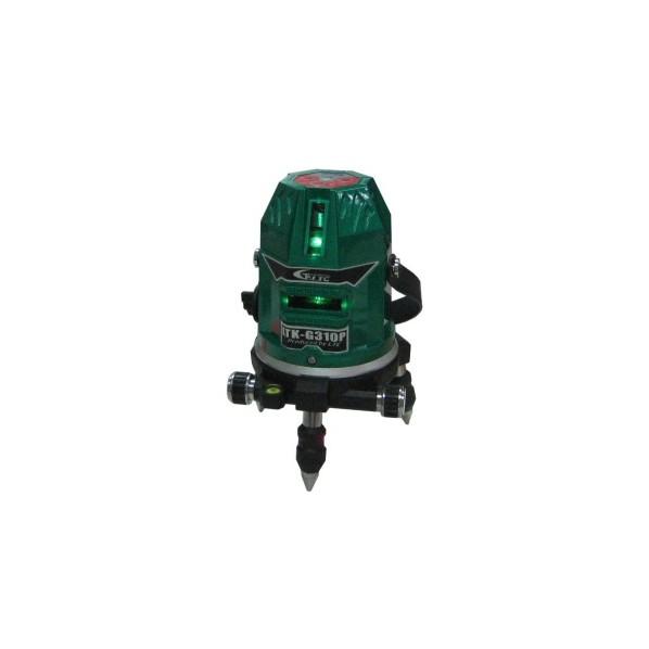キシデン工業 【軽天向け】 レーザー墨出し器(グリーンレーザー) W115xH180mm LTK-G310P 1台