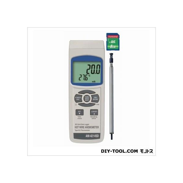 マザーツール デジタル風速計 W68XH177XD45mm AM-4214SD 1個