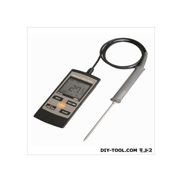 マザーツール 白金デジタル温度計 64(W)×154(H)×25.5(D)mm MT-851 1個