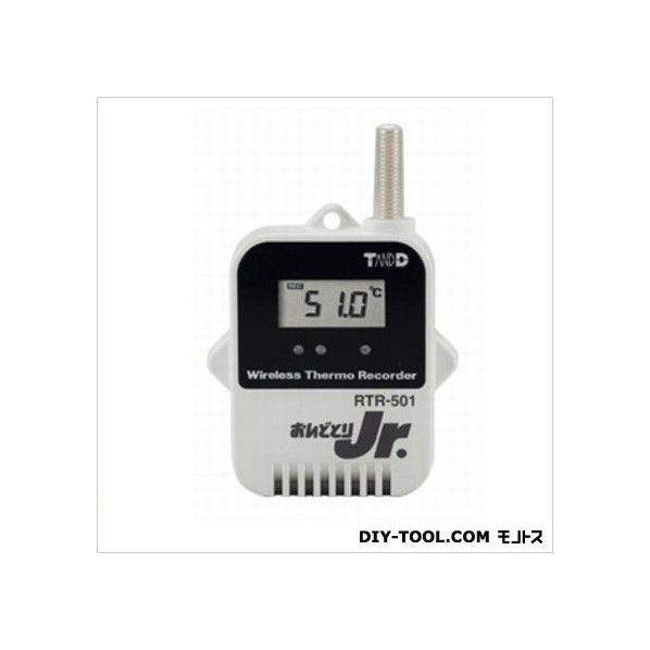 ティアンドデイ 小型データロガー/子機・温度1CH H 62 mm x W 47mm x D 19 mm RTR-501 1台