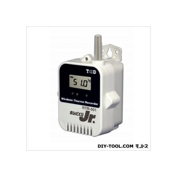 ティアンドデイ 小型データロガー/子機・温度1CH H 62 mm x W 47 mm x D 46.5 mm RTR-501L 1台