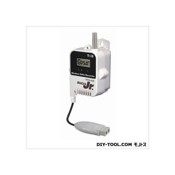ティアンドデイ 小型データロガー/子機・温度1CH/熱電対 H 62 mm x W 47 mm x D 46.5 mm、アンテナ長 24 mm RTR-505-TCL 1台