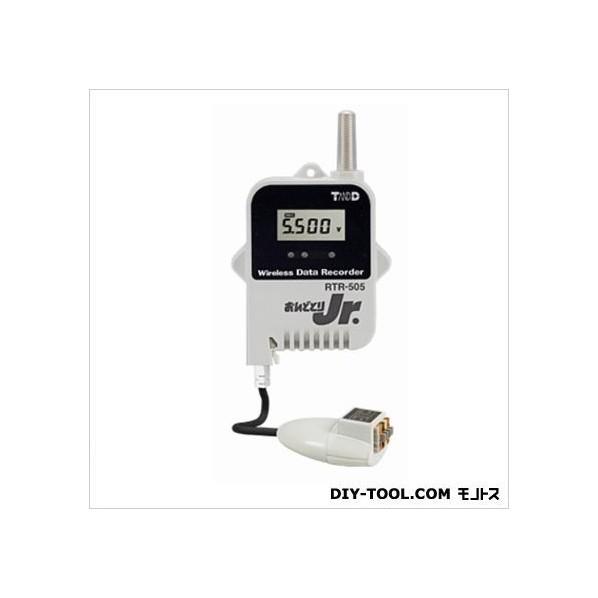 ティアンドデイ 小型データロガー/子機・電圧1CH H 62 mm x W 47mm x D 19 mm、アンテナ長 24 mm RTR-505-V 1台
