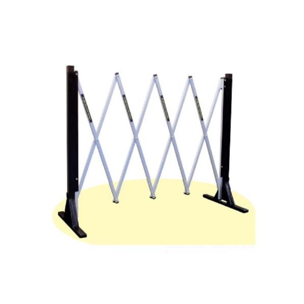 ショップ 安全興業 伸縮式RFゲート ブラウン メーカー直売 H850mm×W190mm~W2100mm 1台 AZ-114